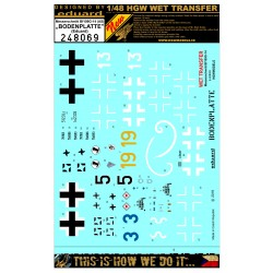 Bf 109G-6 - Riveting Set 1/48 - 481007