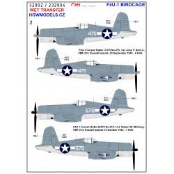 P-47 Thunderbolt - Stencils 1/32 - 232002