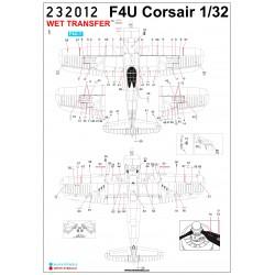 P-50 D,J,K Mustang - Stencils 1/72 - 272002