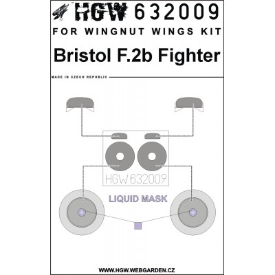 Bf 109F, G - Stencils 1/48 - 248009
