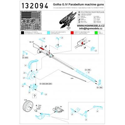 DH.9a Ninak - Seatbelts 1:32 - 132061