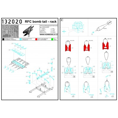 LVG C.VI - Radiator 1:32 - 132033