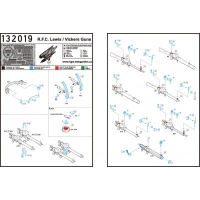 AEG G.IV - Seatbelts 1/32 - 132567