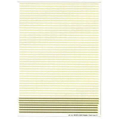 Double & Triple Lines - Rivets 0.60 mm 1/48 - 482012