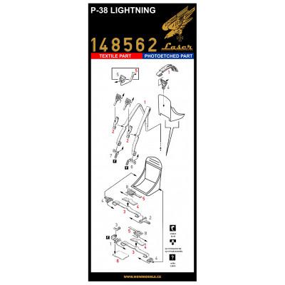 Spitfire Mk.IX - Seatbelts 1/32 - 132593