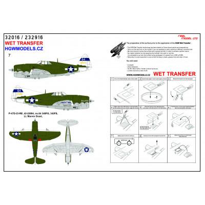 Ki 61 Hien (Tony) - Popisky 1/48 - 248032