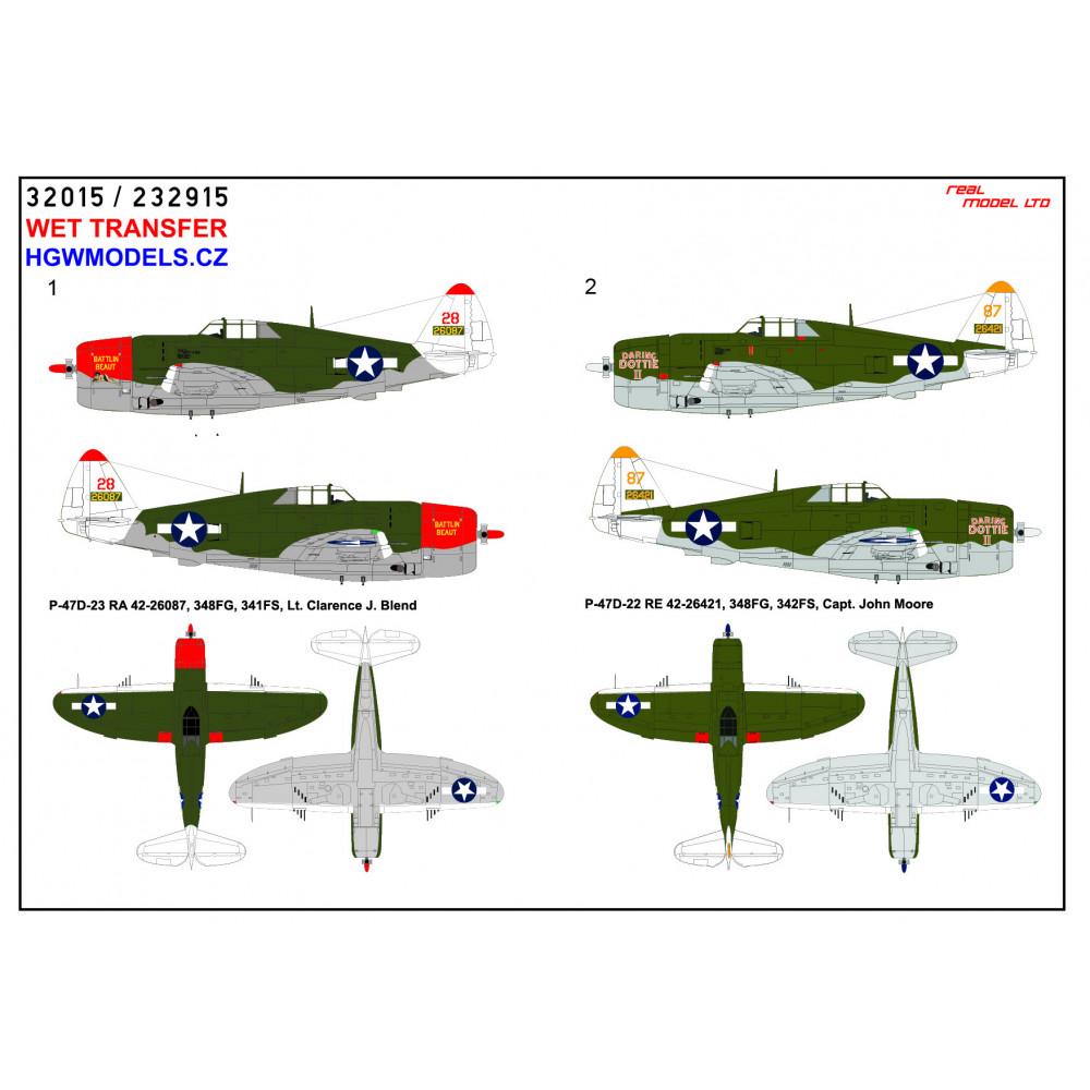 Typhoon Mk.IB - Seatbelts 1/48 - 148556