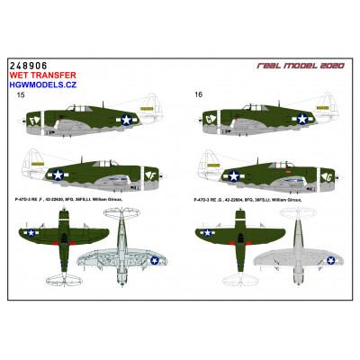 Albatros D.V / D.Va - Double-sided Seatbelts 1/32 - 132303