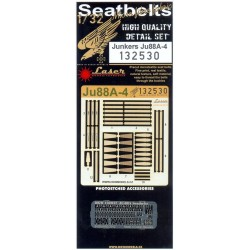 Junkers Ju 88A-4 - Seatbelts 1/32 - 132530