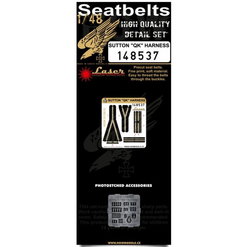 B-25 Mitchell - White Seatbelts 1:32 (132087)