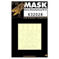 Hansa-Br. W.12 - Masky 1/32 - 632028