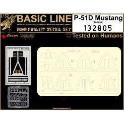P-51D Mustang - Basic Line 1/32 - 132805