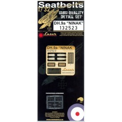 DH.9a Ninak - Seatbelts 1/32 - 132523