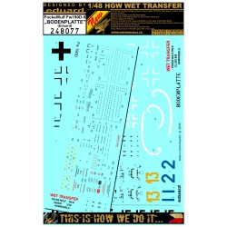 Fw190D-9 Bodenplatte  - Markings + Stencils 1/48 - 248077
