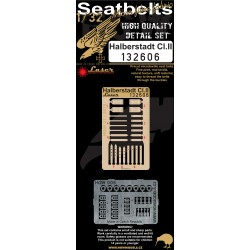 Halberstadt CI.II - Seatbelts 1/32 - 132606