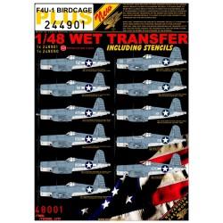 F4U-1 BIRDCAGE - 1/48 - 244901
