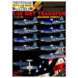 "F4U-1A Corsair VF-17  ""Jolly Rogers"" - Part 2 - 1/48 -..."