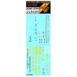 A6M5 Zero - Markingy + Popisky - 1/48 - 248089