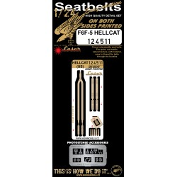 Hellcat - Seatbelts 1:24 - 124511