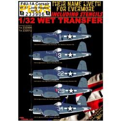 "F4U-1A VF-17 ""Jolly Rogers"" - Part 2 PLUS - 1/32 - 233906"