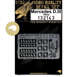 Mercedes D.III 160 hp - Engine 1/32 - 132143