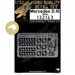 Mercedes D.III 160 hp - Motor 1/32 - 132143