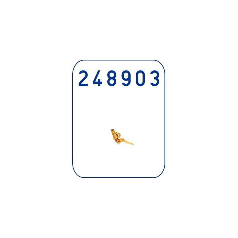 5 Colour Lozenge - Faded / Transparent (548022)