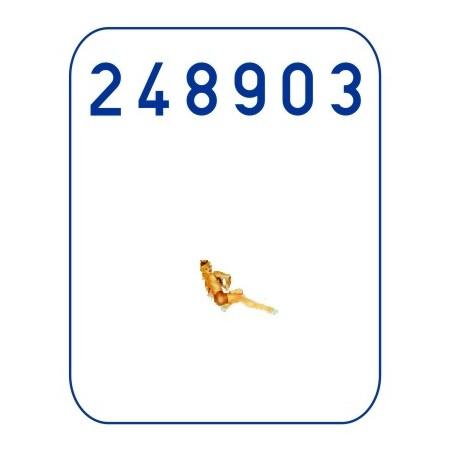 5 Colour Lozenge - Transparent 1/48 - 548022