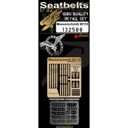 Messerschmitt Bf110 - Seatbelts 1/32 - 132588