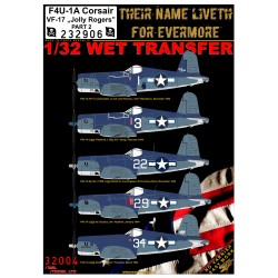 "F4U-1A VF-17 ""Jolly Rogers"" - Part 2 - 1/32 - 232906"