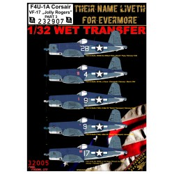 "F4U-1A VF-17 ""Jolly Rogers"" - Part 3 - 1/32 - 232907"