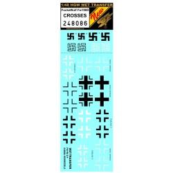 Focke Wulf Fw190D - crosses 1/48 - 248086