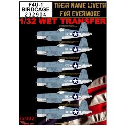 F4U-1 BIRDCAGE - 1/32 - 232904