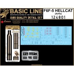 F6F-5 HELLCAT (airfix)  - Basic Line 1/24 - 124801