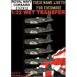 ROYAL NAVY CORSAIRS   - 1/32 - 232912