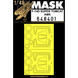 F-14D Super Tomcat - Masks 1/48 - 648401
