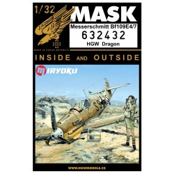 Bf109E-4/7 - Masks 1/32 - 632432