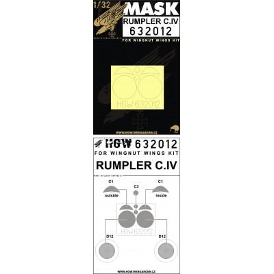 Rumpler C.IV - Masks 1/32 - 632012