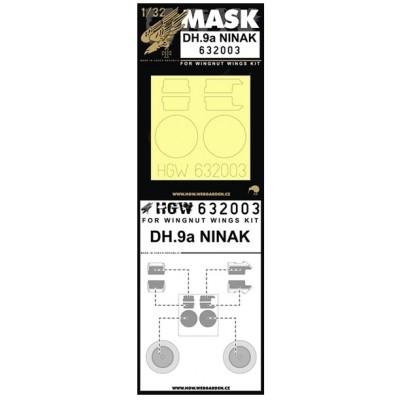 DH.9a Ninak - Masky 1/32 - 632003