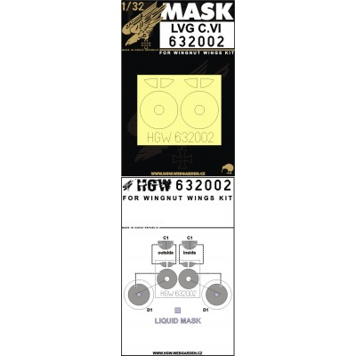 LVG C.VI - Masks 1/32 - 632002