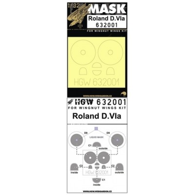 Roland D.VIa - Masks 1/32 - 632001