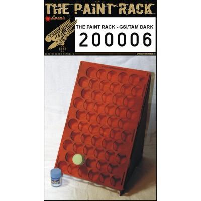 Stojan na barvy tmavý - GSI & Tamiya - 200006