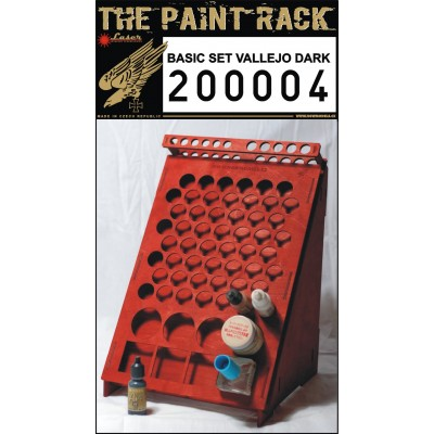Paint Rack Dark - Vallejo & Citadel - 200004