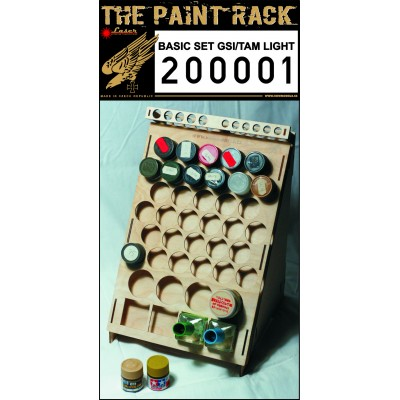 Paint Rack Light - GSI & Tamiya - 200001