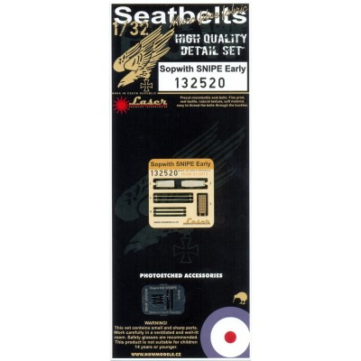 Sopwith Snipe (Early) - Seatbelts 1/32 - 132520