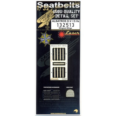 Albatros D.V & D.Va - Seatbelts & Pillow 1/32 - 132513