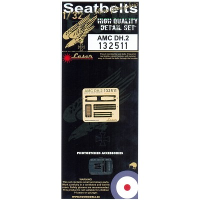 AMC DH.2 - Seatbelts 1/32 - 132511