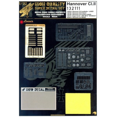 Hannover Cl.II - Super Detail Set 1:32 - 132111