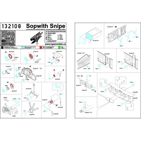 P-51D Mustang - Seatbelts 1:32 - 132015