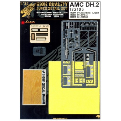 AMC DH.2 - Super Detail Set 1:32 - 132105